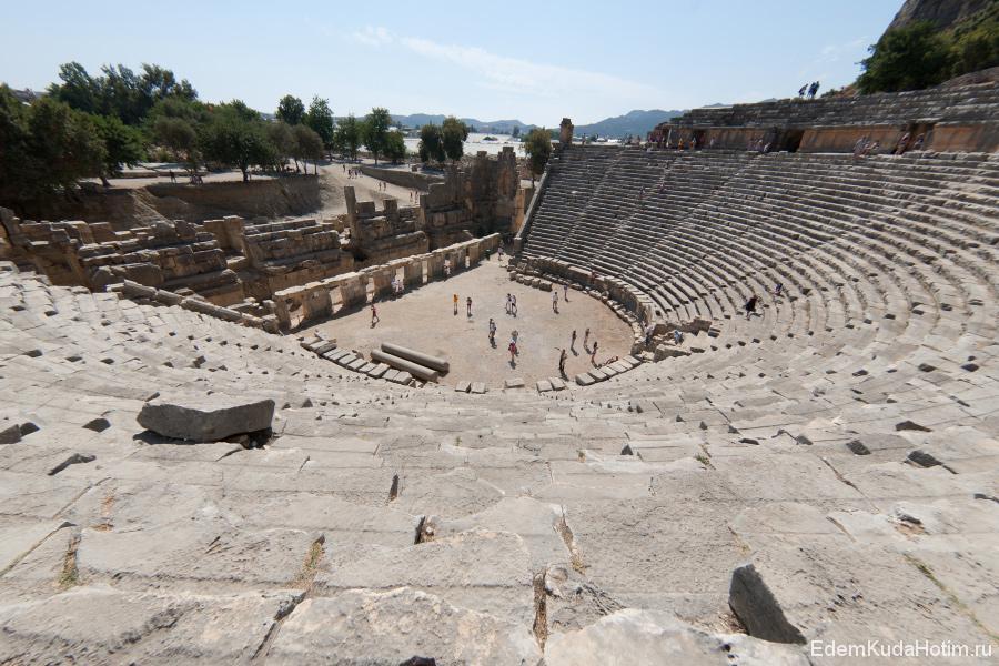 Амфитеатр древней Миры