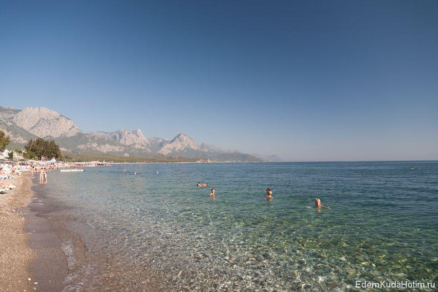 В некоторые дни на пляже вообще почти не было народу!