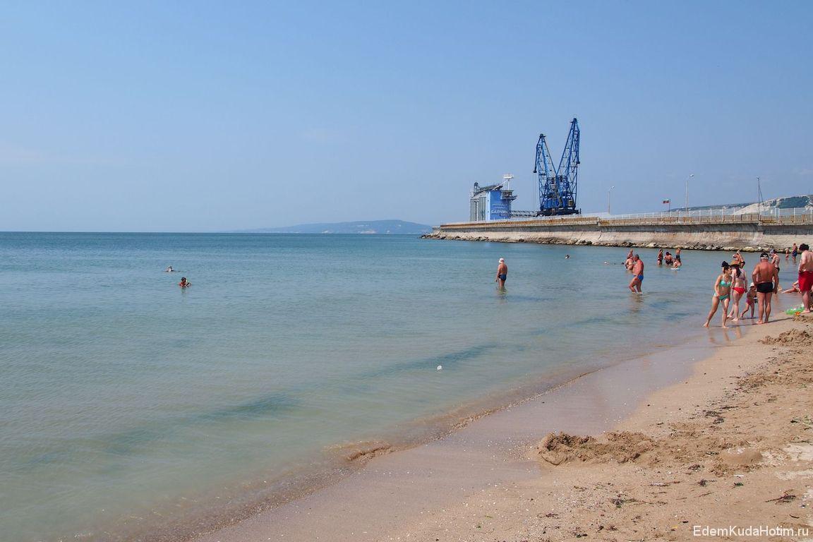 Городской пляж Балчика