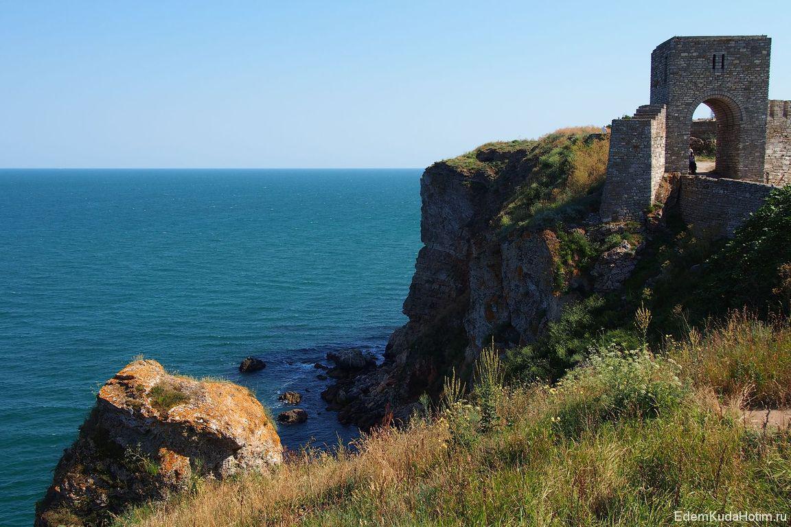 Старая крепость на мысе Калиакра
