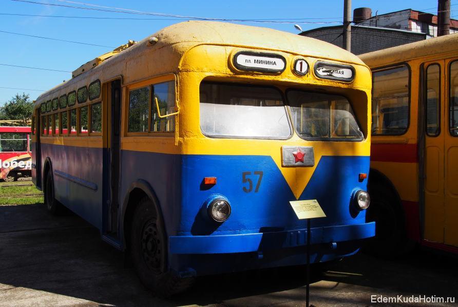 Троллейбус МТБ-82 - первый троллейбус, пущенный в Нижнем