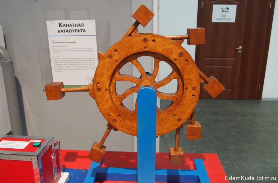 Попытка русского крестьянина изобрести вечный двигатель