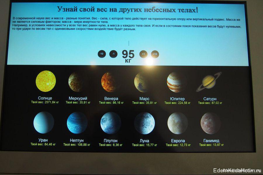 А вы сколько весите на Юпитере?
