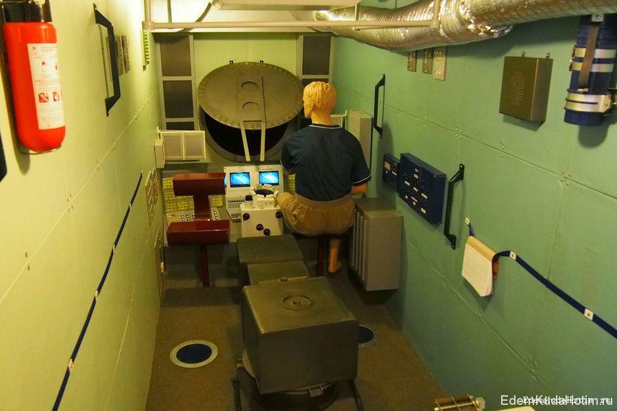 Рабочее место космонавта
