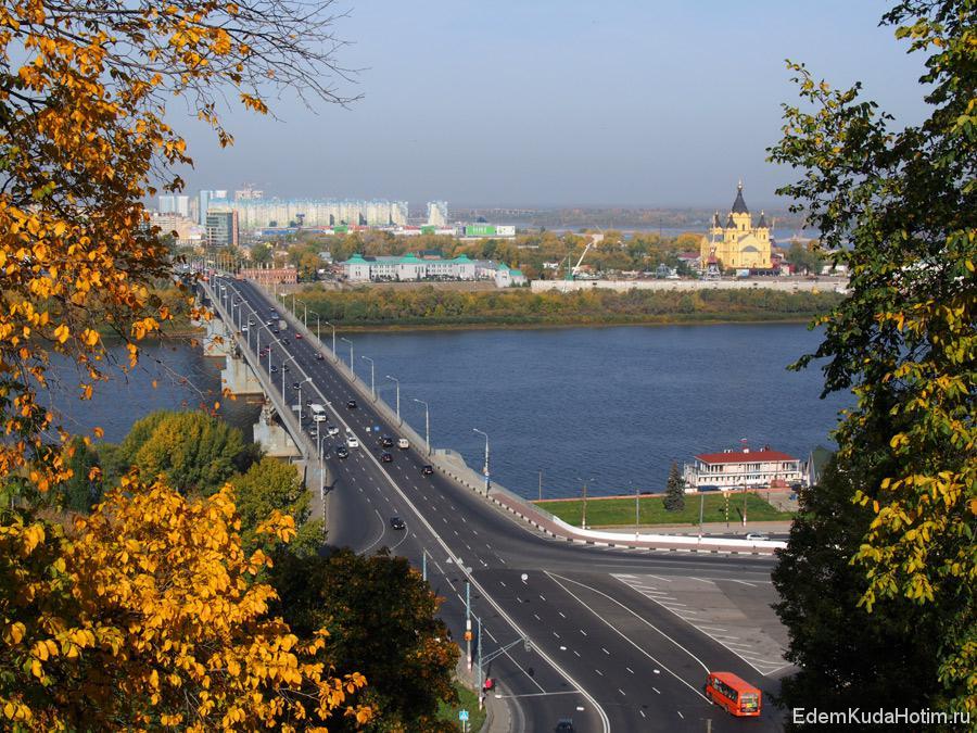 Вид с набережной Федоровского