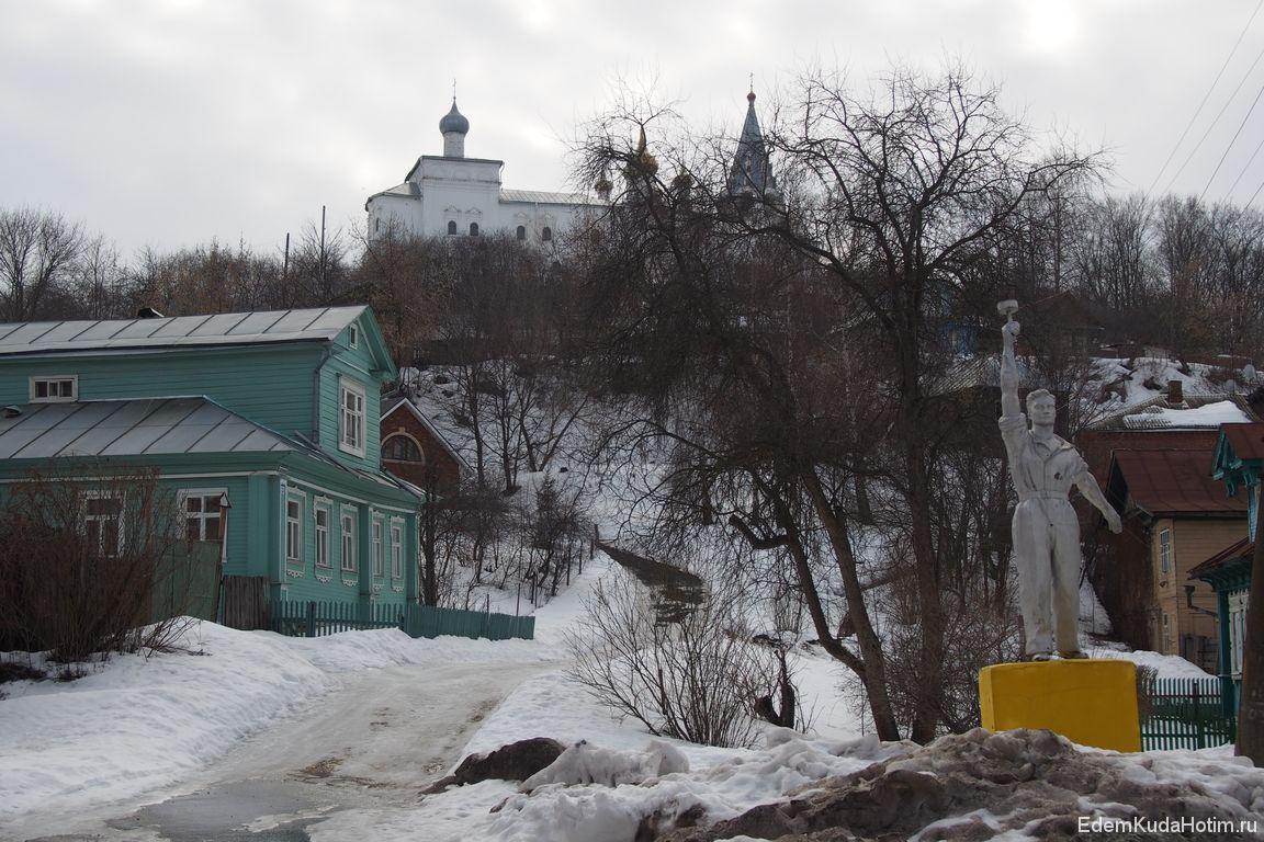 Гороховец - город контрастов