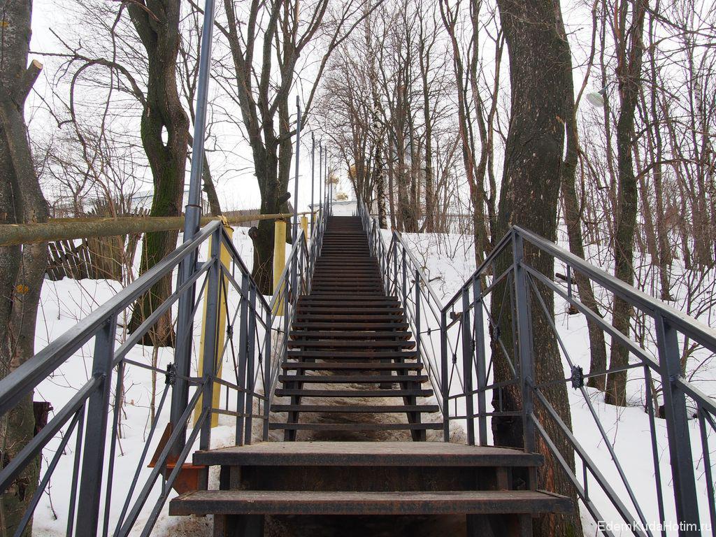 Опять лестница!