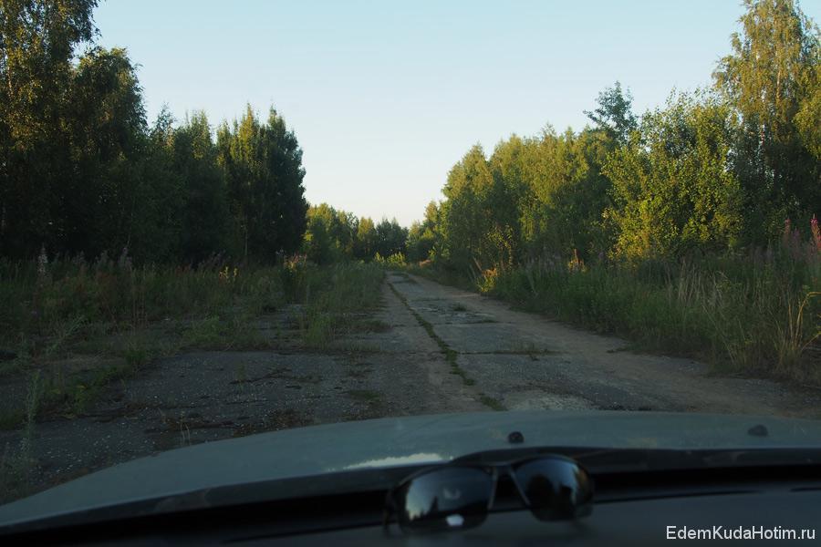 Взлетная полоса в Гороховце