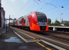 Ласточка на станции Гороховец