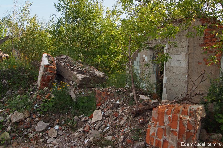 Руины Галицкого гипсового завода