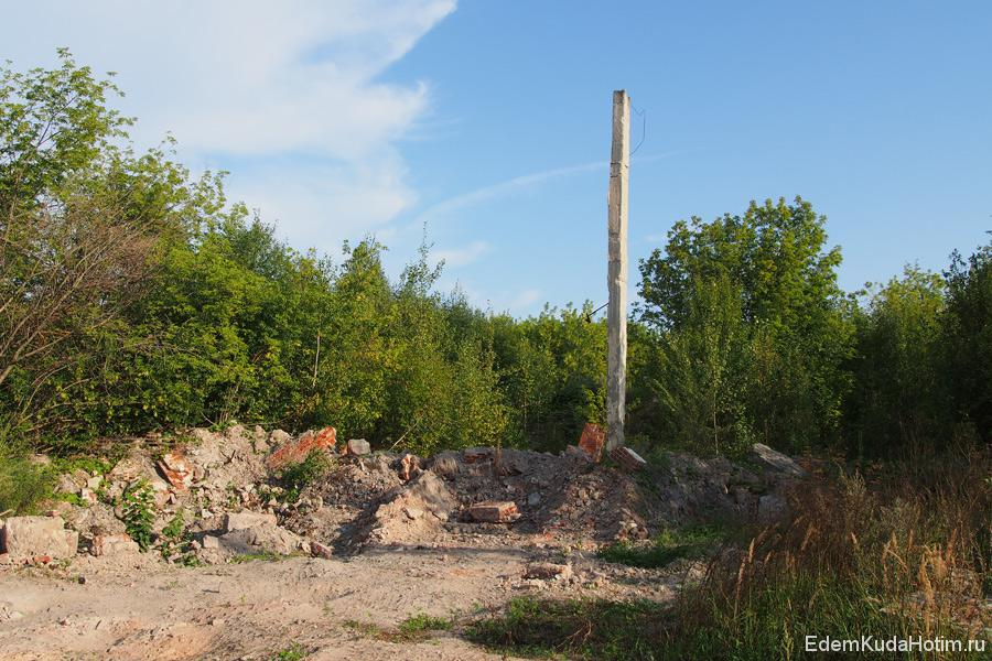 Судя по следам, Галицкий гипсовый завод был сравнен с землей тяжелой техникой