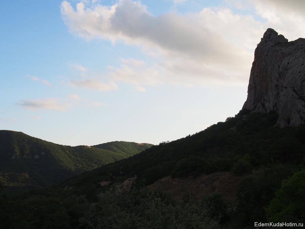 Горы в районе Коктебеля